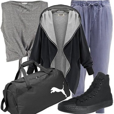 Outfit Io vado in palestra e voi?