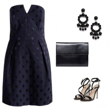 Outfit Black Pois