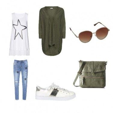 Outfit Tempo Libero Con style