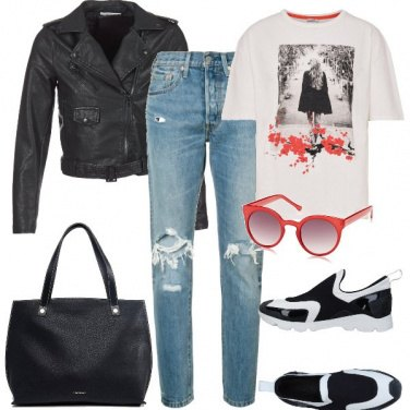 Outfit L\'cchiale rosso