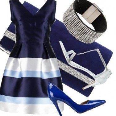 Outfit Blu eleganza