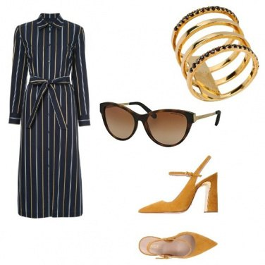 Outfit Moda tra le righe
