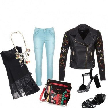 Outfit Desigual daily
