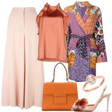 Outfit Come la seta