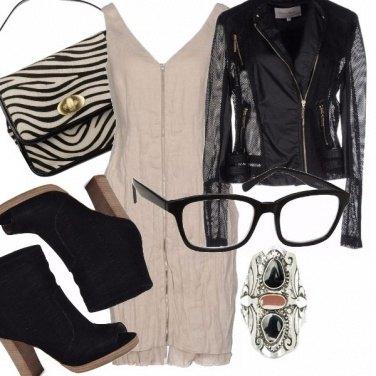 Outfit Sexy ed occhiali da vista