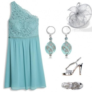 Outfit BLUE TIFFANY