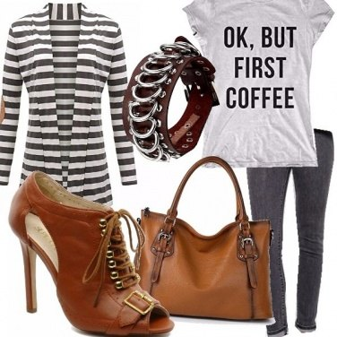 Outfit Ok but first coffee
