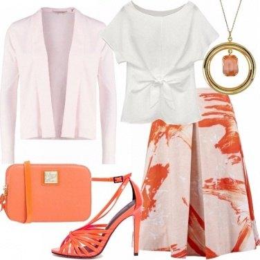 Outfit Energia arancione