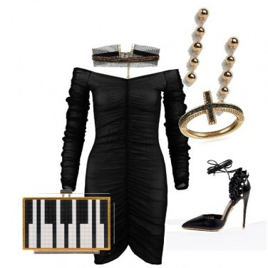Outfit Sexy pianoforte