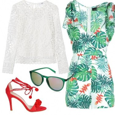 Outfit Hawaii con stile