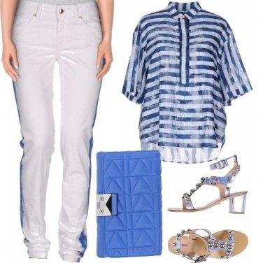 Outfit Un bel blu