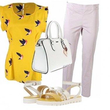 Outfit Colori solari per l\'ufficio
