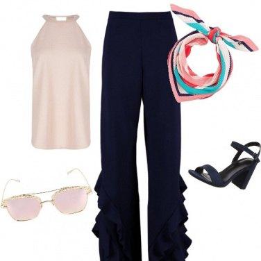 Outfit Pantalone con dettaglio