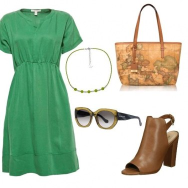 Outfit Simply green