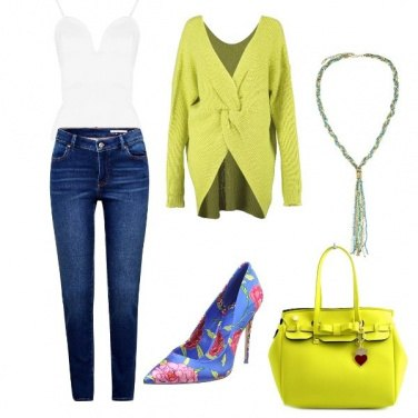 Outfit Freschezza lime