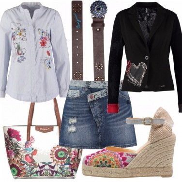 Outfit Crazy for Desigual