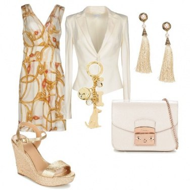 Outfit Zeppa dorata