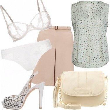 Outfit Bianco su bianco