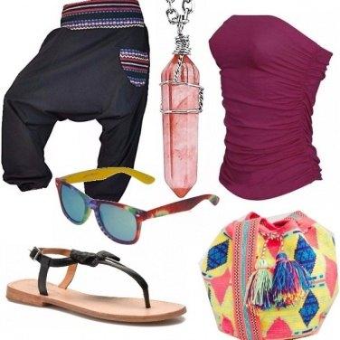 Outfit Colori e comodità