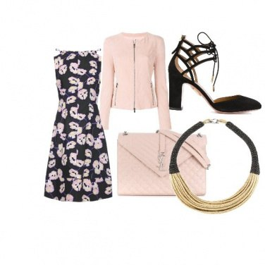 Outfit Cipria con allegria