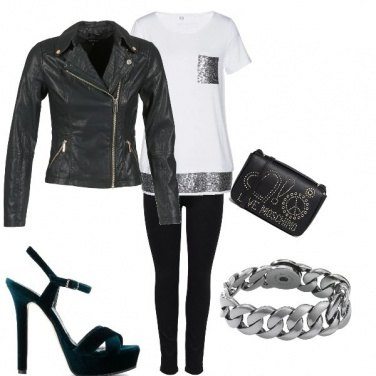 Outfit An elegant sporty chic combination