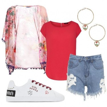 Outfit Rose nel cuore