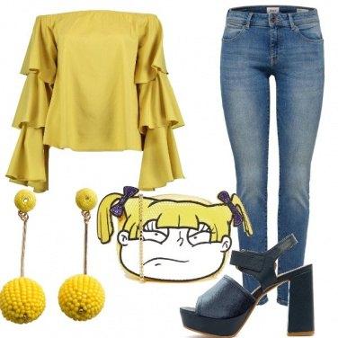 Outfit Giallo ti amo