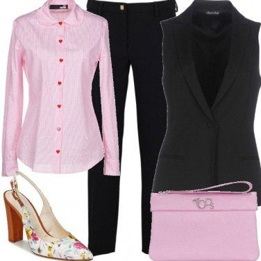 Outfit Gilet elegante