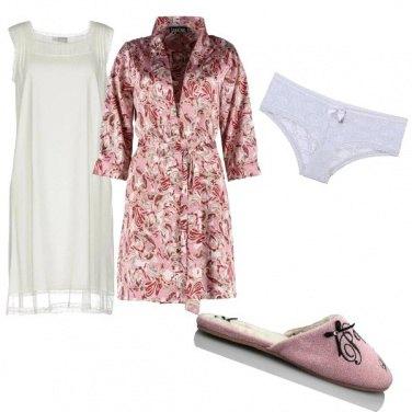 Outfit Un tocco di rosa per sognare