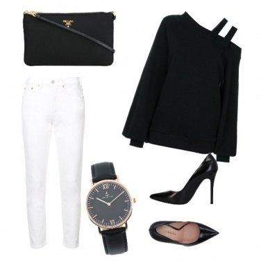 Outfit Farfecth in bianco e nero