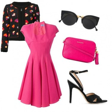 Outfit Fuxia in love