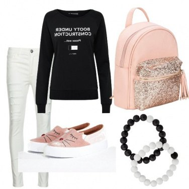 Outfit The pink in the dark