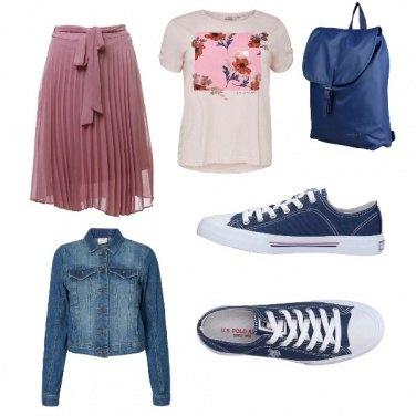 Outfit Romantica studentessa