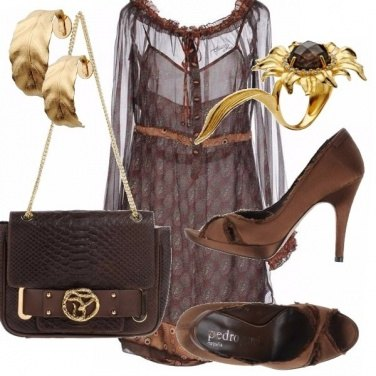 Outfit Girasoli di sera