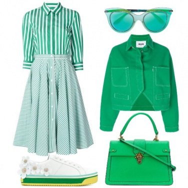 Outfit Green Vibes