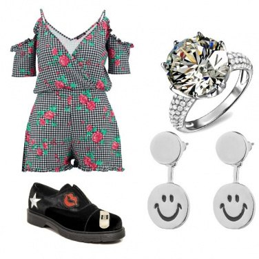 Outfit Rose e smiles