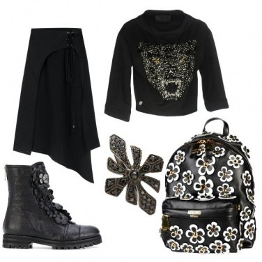 Outfit Rock #583