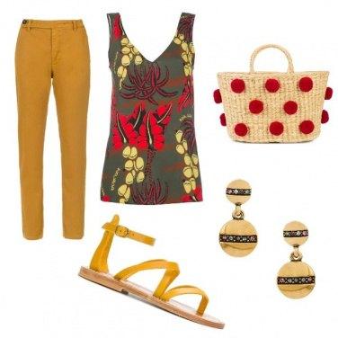 Outfit Una cascata di colori Farfetch