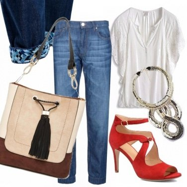Outfit Risvolto glam