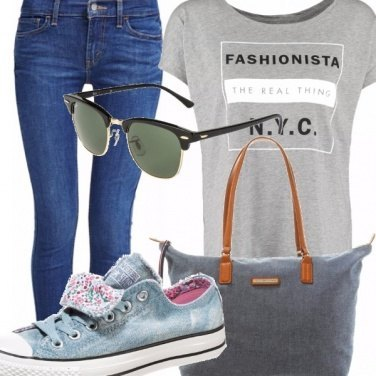 Outfit Jeans passion
