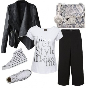 Outfit Sunday Style...casual con un tocco rock!