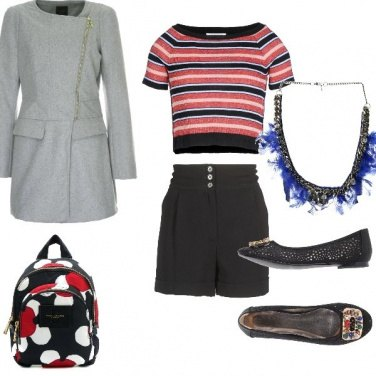 Outfit Red & blue