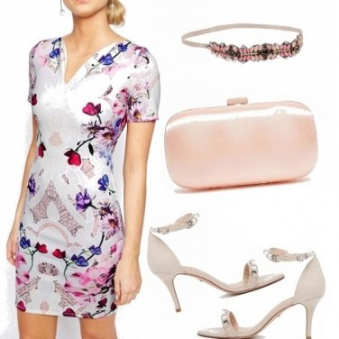 Outfit Fiori a nozze