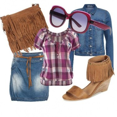 Outfit Country style low cost