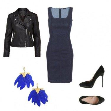 Outfit Aperitivo in blu
