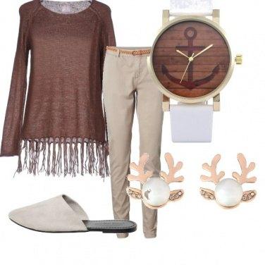 Outfit L\'orologio con l\'ancora...