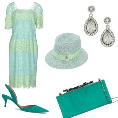 Outfit Seconde nozze in verde
