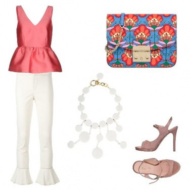 Outfit Coral love