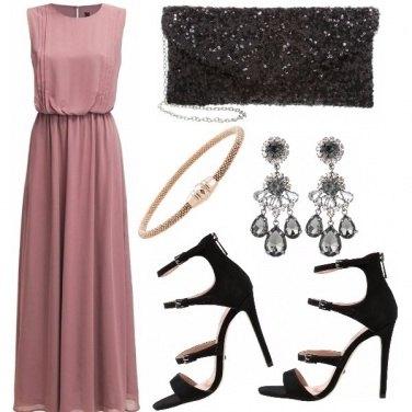 Outfit Il rosa e il nero