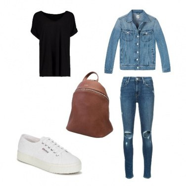 Outfit Denim city